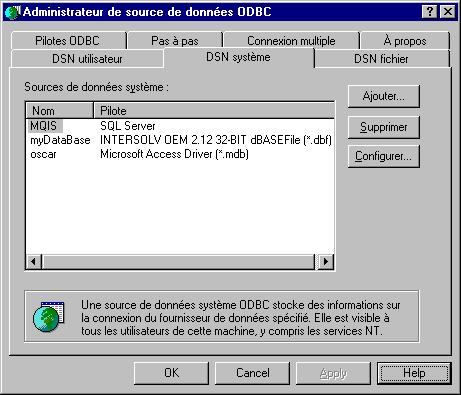 Développons en Java - JDBC (Java DataBase Connectivity)
